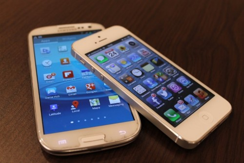 Samsung Galaxy NFC iPhone Hulu Android