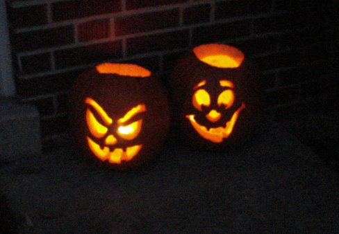 Keeping Trick or Treaters Away from Your Home while Scaring Your Kids in the Days of Yore!