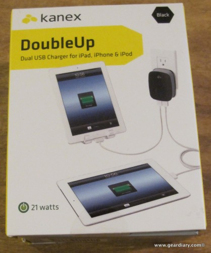 Kanex DoubleUp Dual USB Charger Review  Kanex DoubleUp Dual USB Charger Review