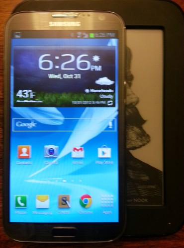 GearDiary A Visual Guide to the Freakin' Huge US Cellular Samsung Galaxy Note II