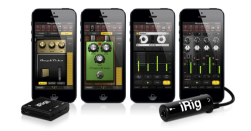 IK Multimedia Releases iPhone 5-Friendly AmpliTube 2.7!