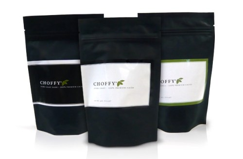 Cocoa Beans Channel Coffee Beans with Choffy
