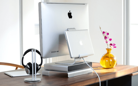 GearDiary Just Mobile AluRack for Apple iMac and ThunderBolt Displays Review