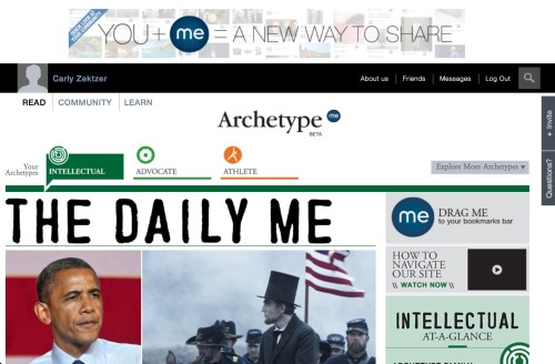 ArchetypeMe Makes Finding New Content Fun and Personal