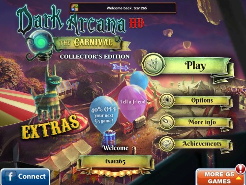 Dark Arcana - The Carnival HD for iPad Review
