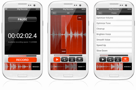 IK Multimedia Brings Mobile Music to Android with iRig Recorder