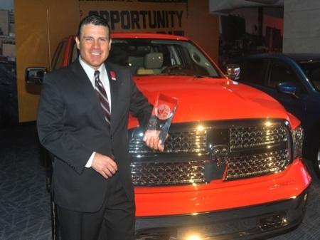 Cadillac ATS and Ram 1500 Named Car/Truck of the Year at NAIAS  Cadillac ATS and Ram 1500 Named Car/Truck of the Year at NAIAS