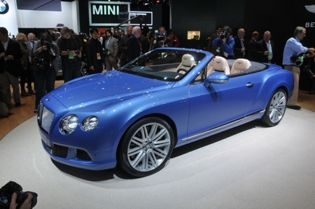 2014 Bentley GT Continental Convertible