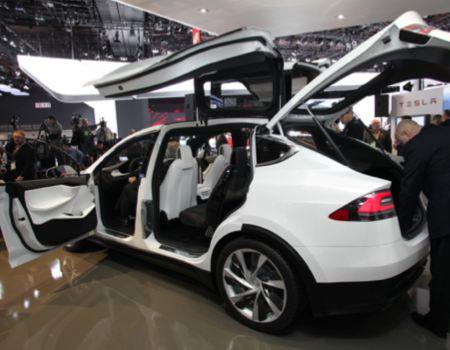 Tesla Prototype Model X