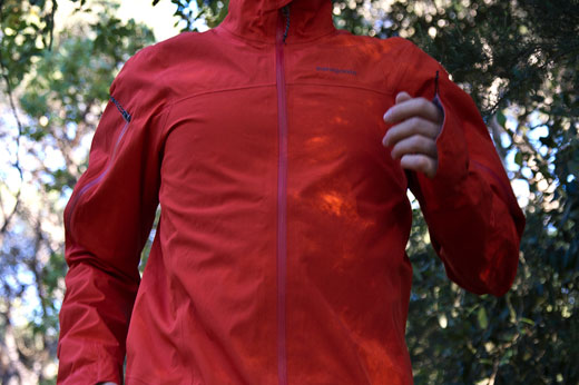 Patagonia light flyer jacket running