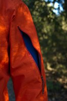 Patagonia light flyer jacket sleeve detail