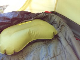 Mammut inflatable pillow
