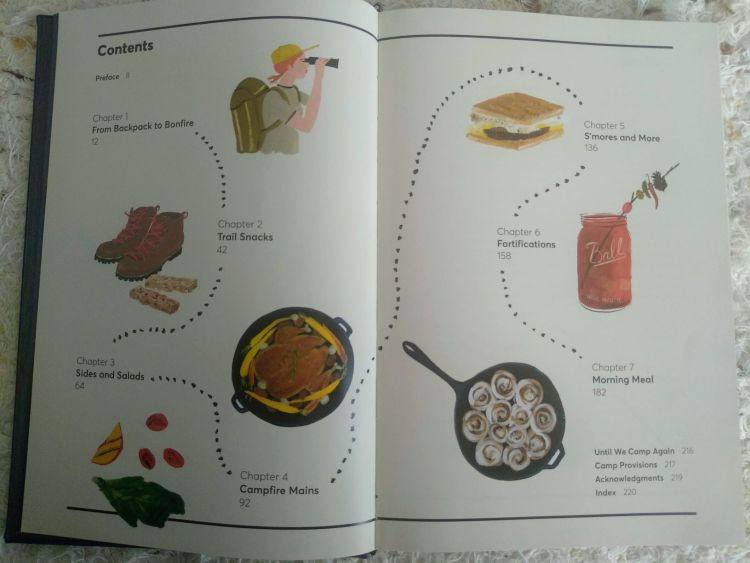 Campout Cookbook Review