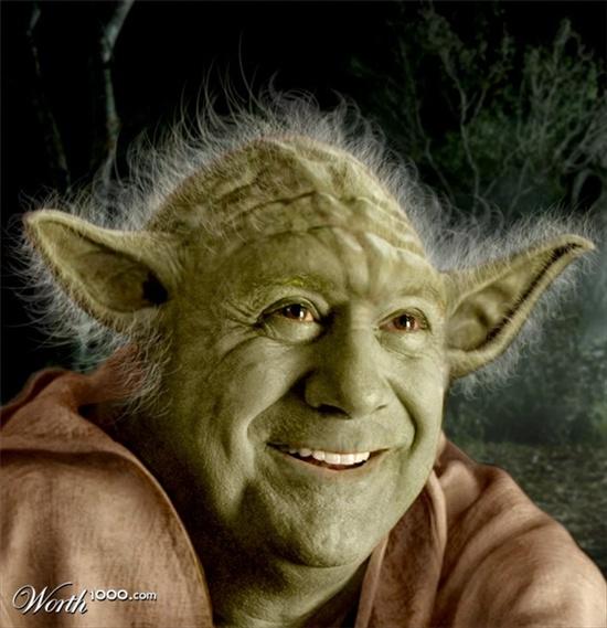 Star Wars Celebrities Yoda DeVito Ewokchop and Elvis Solo  Gearfuse
