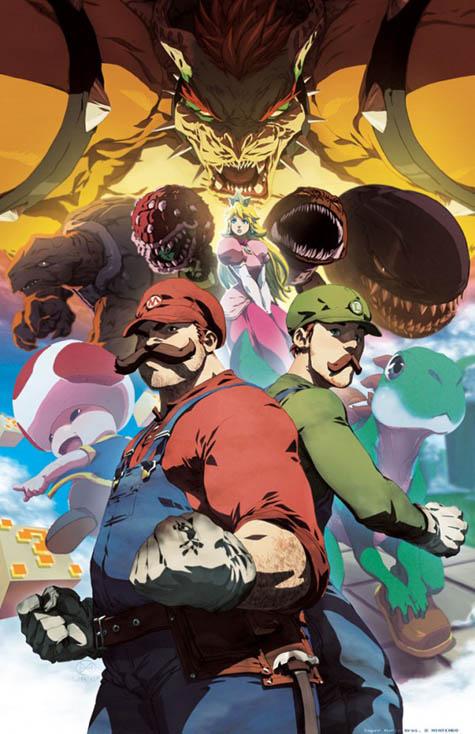 Super Mario Anime Gearfuse