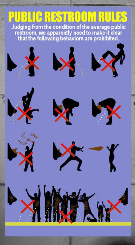 Public Restroom Rules Please No Mortal Kombat  Gearfuse