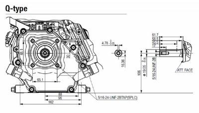 Briggs & Stratton 5.5HP XR750 Series Keyway Shaft Petrol