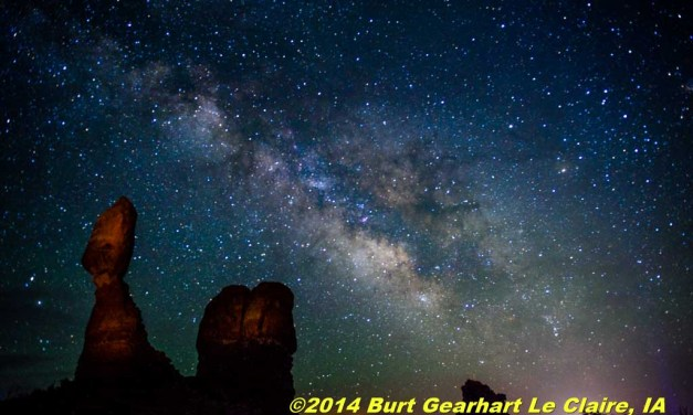 Milky Way at Balanced Rock