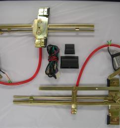 complete street hot rat rod flat glass power window kit  [ 1024 x 768 Pixel ]