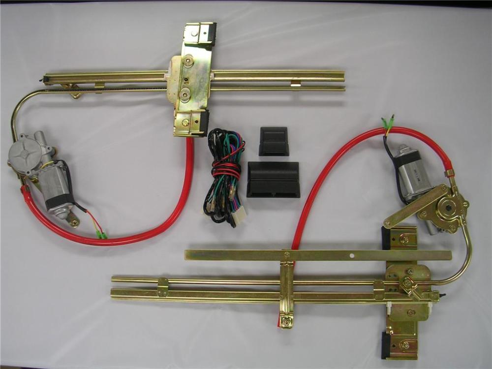 medium resolution of  complete street hot rat rod flat glass power window kit