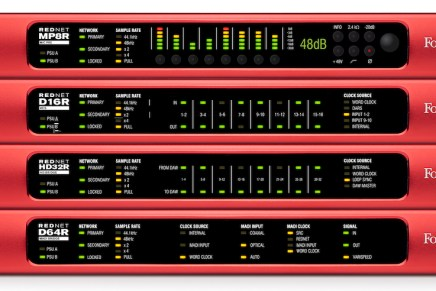 Focusrite Presents Fail-Safe RedNet Range