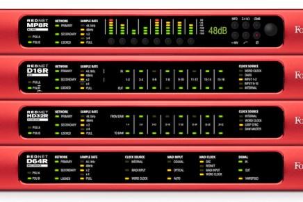 Focusrite Presents Fail-Safe RedNet Range