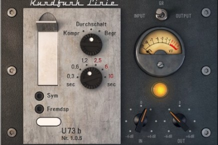 Audified announces U73b broadcast compressor – limiter plug-in