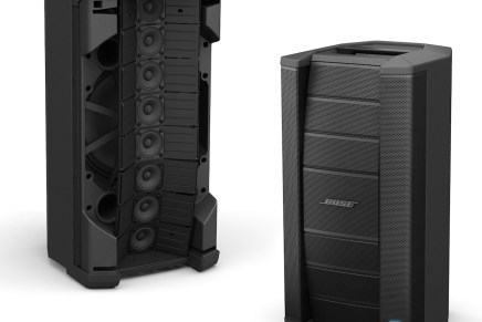 Bose Expands Portable P.A. series with array Loudspeaker and Subwoofer