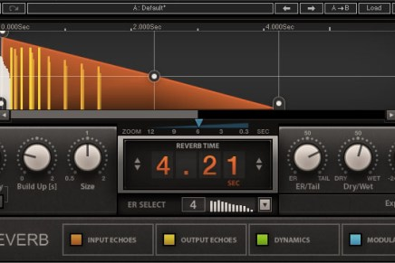 Waves Audio announces new H-Reverb plug-in