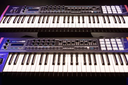 Arturia announces KeyLab 49 and 61 in limited edition black