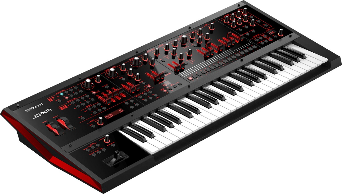 roland jd xa digital analog synthesizer gearjunkies review. Black Bedroom Furniture Sets. Home Design Ideas