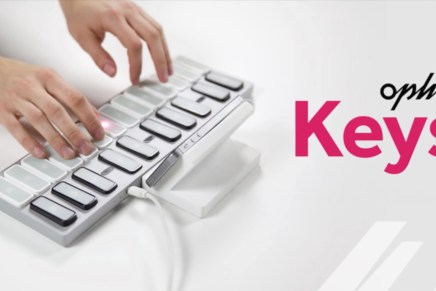 New Incident Technologies Opho Keys – Modular Controller Keyboard