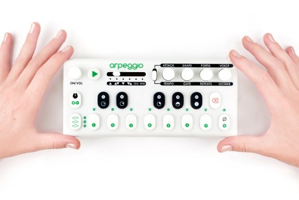 Tangible Instruments announced Arpeggio Monophonic Synthesizer