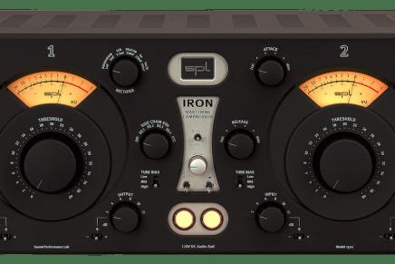 SPL Starts Shipping IRON Mastering Compressor