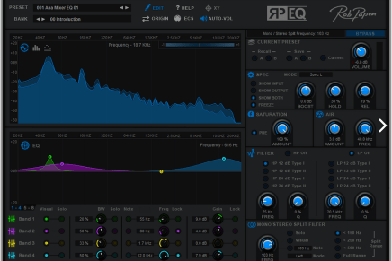 Rob Papen announces RP-EQ Equaliser plug-in