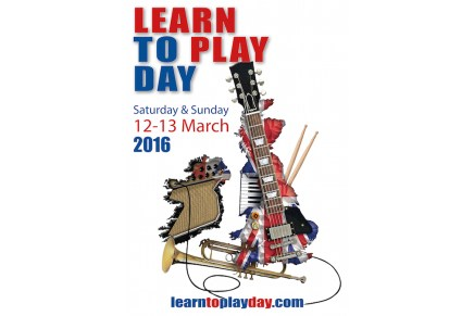 Music for All's national Learn to Play Day – Sunday 13 March 2016