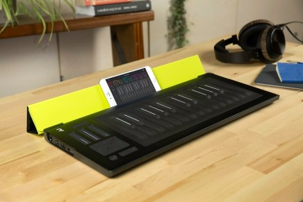 Seaboard RISE goes mobile with Equator for iPhone app and versatile Flip Case