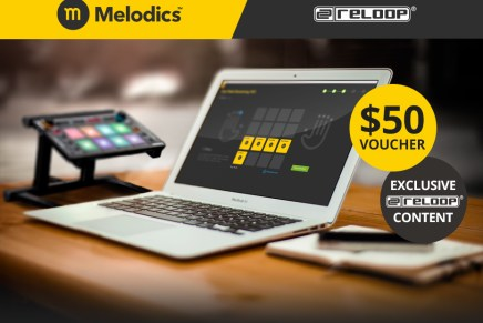 Reloop and Melodics cooperation