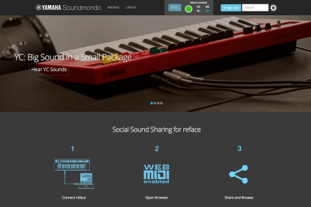 Yamaha launches Soundmondo – Social Sound-Sharing Site