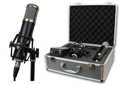 Lauten Audio introduces Series Black vacuum tube condenser microphone