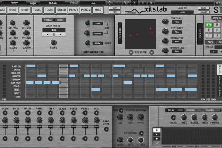 XILS-lab launches StiX by Xils V1.0 virtual analogue drum machine plug-in