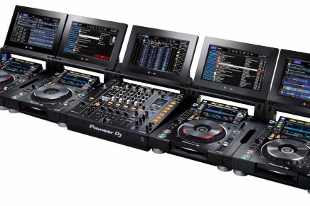 Pioneer announces the TOUR system CDJ-TOUR1 and DJM-TOUR1