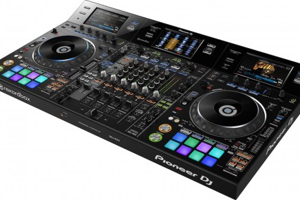 Pioneer announces the DDJ-RZX audio and video performance controller
