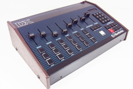 Free Oberheim DX drum samples from MARS