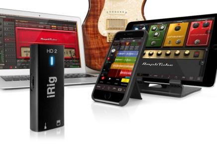 IK Multimedia announces iRig HD 2 audio interface for iPhone, iPad, Mac & PC