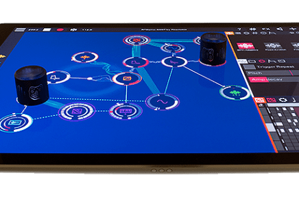 Reactable releases new iPad app ROTOR with hardware controllers knobs