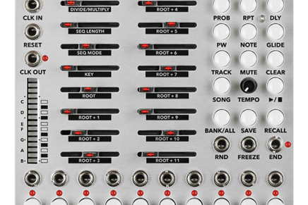 Malekko announces Varigate 8+ sequencer and control station Eurorack module