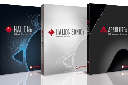 Steinberg announces HALion 6, HALion Sonic 3 and Absolute 3 software plug-ins