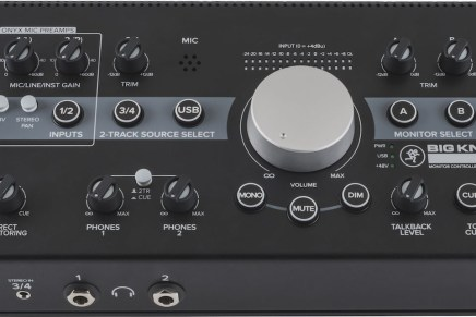 Mackie announces three new monitor controllers – Big Knob Passive, Big Knob Studio and Big Knob Studio+