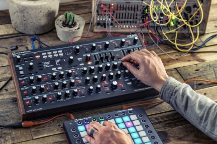 Novation announces Peak polyphonic synthesizer at Superbooth 2017 Berlin